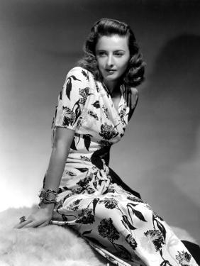 Barbara Stanwyck, 1940 by George Hurrell