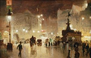 Piccadilly Circus, London by George Hyde-Pownall