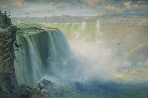 Blue Niagara, c.1884 by George Inness