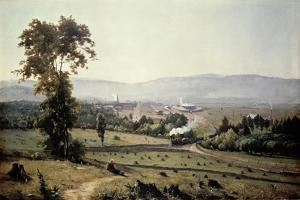 El Valle De Lackawanna by George Inness
