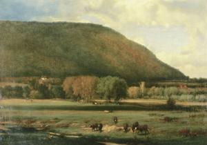 Hudson River Valley by George Inness