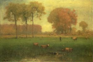 Indian Summer, 1891 by George Inness