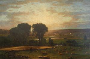 Peace and Plenty by George Inness