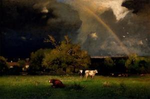 Rainbow by George Inness
