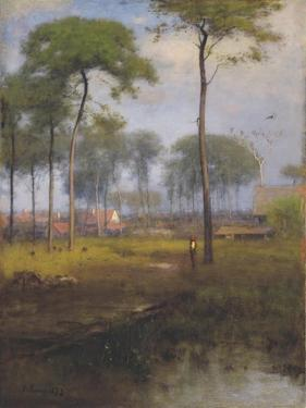 Early Morning, Tarpon Springs, 1892 by George Inness Snr.