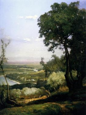 View of Perugia, Italy, 1872 by George Inness