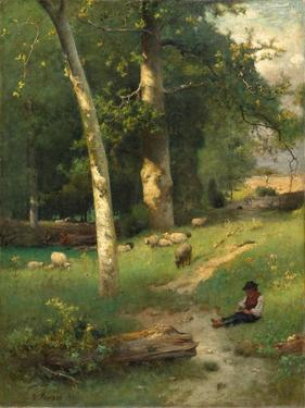 Under the Greenwood, 1881 by George Jnr. Inness