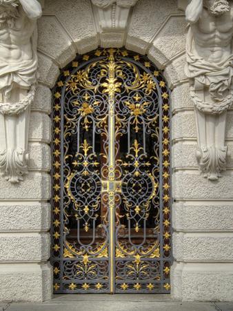 Schloss Linderhof Door by George Johnson