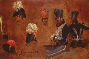 Studies of Military Accoutrements, 1815 by George Jones