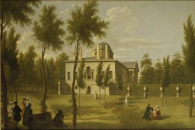 View of Chiswick Villa from the Lawn, C.1735