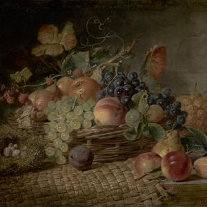 Fruit ('The Autumn Gift') by George Lance