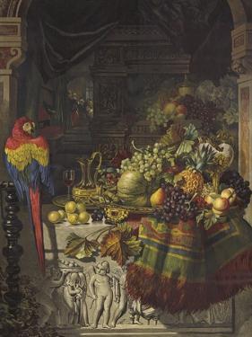 The Burgomaster's Dessert by George Lance