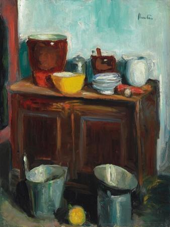 Kitchen Utensils by George Leslie Hunter