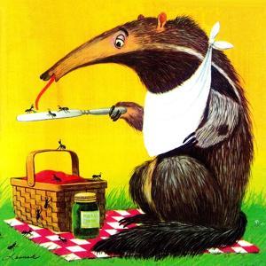 Anteater Picnic - Jack & Jill by George Lesnak