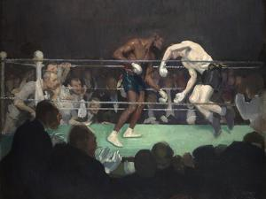 Boxing Match, 1910 by George Luks