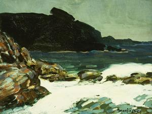The Ledge, Cape Elizabeth, Maine, 1922 by George Luks