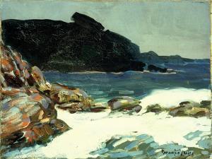 The Ledge, Elizabeth, Maine by George Luks
