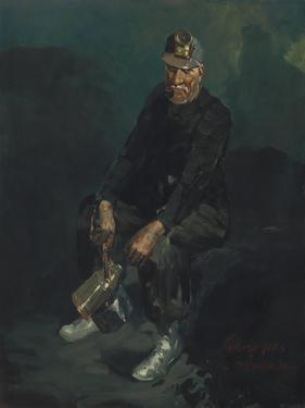 The Miner, 1925 by George Luks