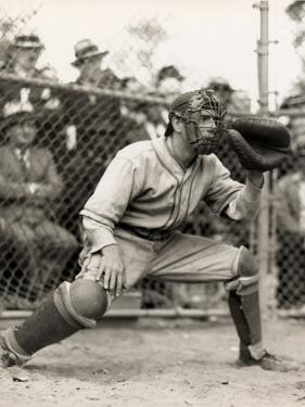 Baseball Catcher by George Marks