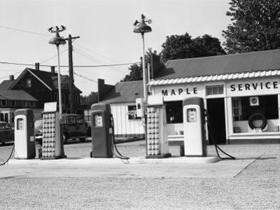 Urban Gas Station by George Marks