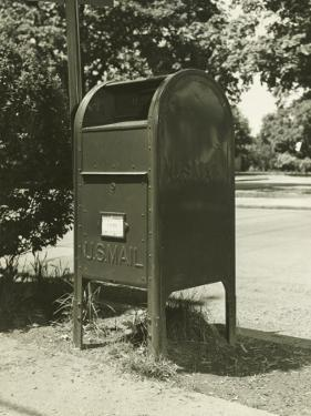 Us Mailbox in Suburban Environment by George Marks