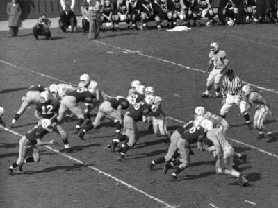 Yale Football Game by George Marks