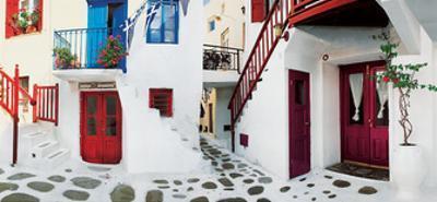 Colorful Doors by George Meis