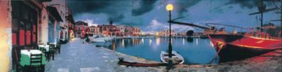 Evening in Greece by George Meis
