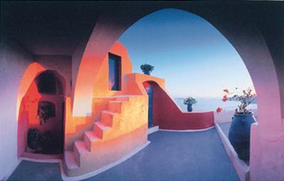 Sunlit Steps by George Meis