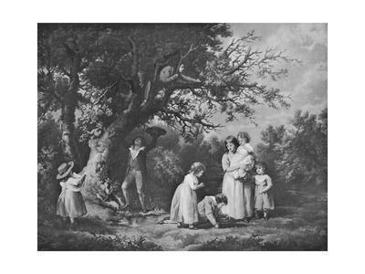 'Children Birdnesting', 1789, (1912)