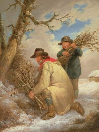 Faggot Gatherers in the Snow