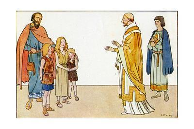 St. Gregory with English Children