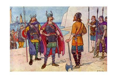 The First Saxons in Britain
