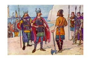 The First Saxons in Britain by George Morrow
