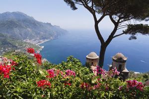 Amalfi Coast Vista at Ravello, Italy by George Oze