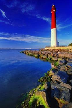 Barnegat Lighthouse, New Jersey by George Oze