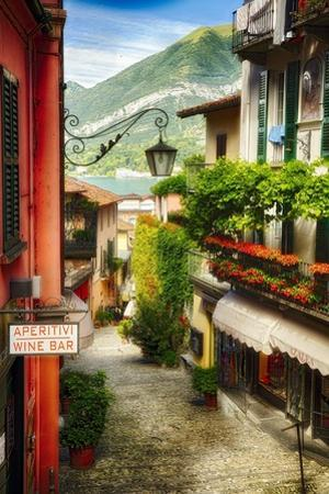 Bellagio Street Charm I by George Oze