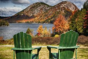 Best Seats in Acadia National Park, Maine by George Oze