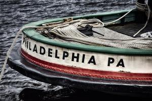 Bow Of A Tugboat, Philadelphia, PA by George Oze
