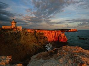 Cabo Rojo Lighthouse by George Oze