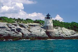 Castle Hill Lighthouse, Newport, RI by George Oze