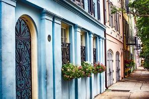 Charleston Street Colors, South Carolina by George Oze