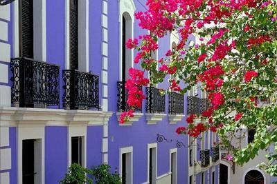 Colorful Balconies of Old San Juan