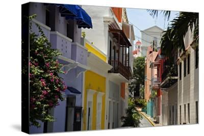 Colorful Street, Old San Juan, Puerto Rico by George Oze