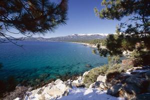 Crystal Bay View, Lake Tahoe, Nevada by George Oze