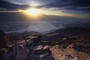 Dantes View Sunset, Death VAlley, CA by George Oze