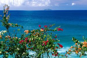 Desecheo Island View, Rincon, Puerto Rico by George Oze