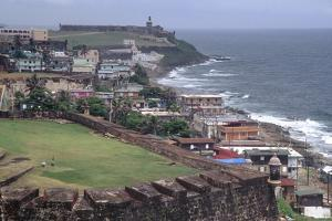 El Morro Fort as Viewed From San Cristobal Fort by George Oze