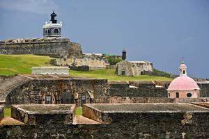 El Morros Defense, Old San Juan, Puerto Rico by George Oze