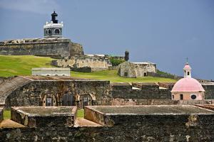 El Morros Defense, Old San Juan, Puerto Rico by George Oze